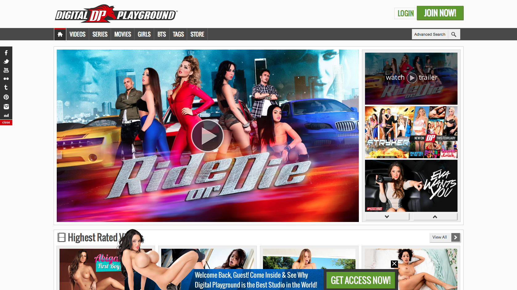 Digitalplayground.com Website