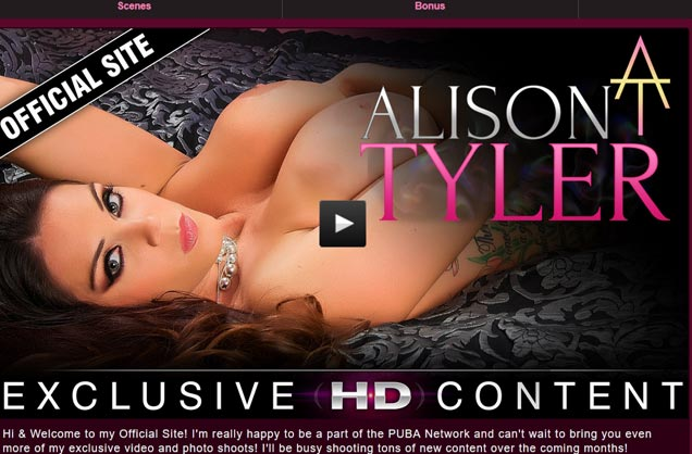 Top hd porn site with the hot model Alison Tyler