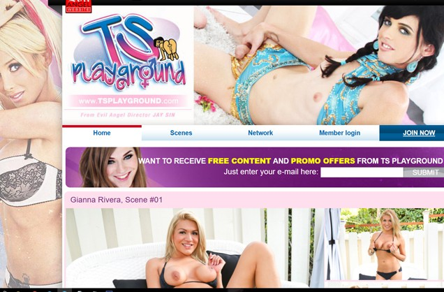 Top paid porn website dedicated to the hot shemaless