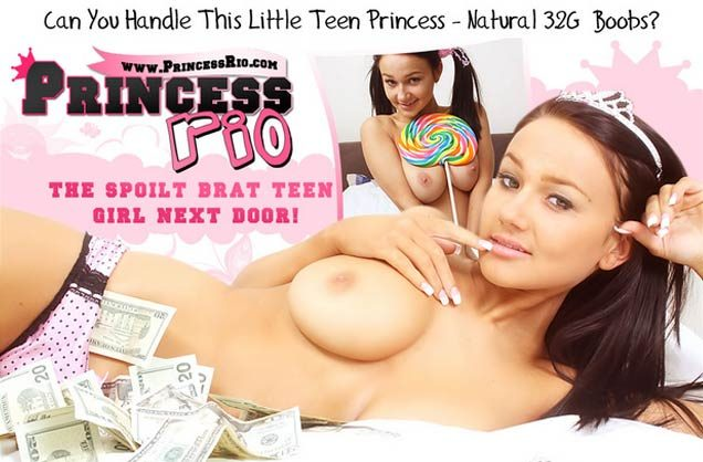 Nice paid adult website where you can meet the hot models Princess Rio