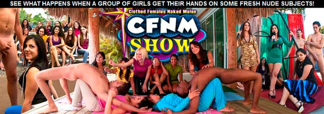 Top premium sex website showing hot cfnm porn action
