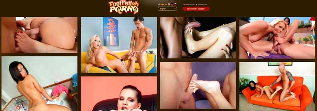 Good premium porn website if you like feet adult contents