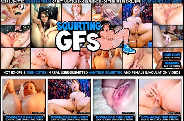 Top premium sex website if you are a lover of squirting porn flicks